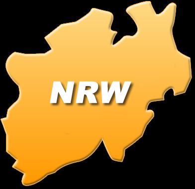 NRW Karte